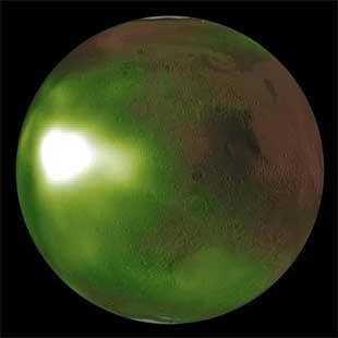 درخشش شب مریخ از نگاه «ماون»