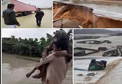 ۴۰۰ روستای سیستان و بلوچستان در محاصره سیل