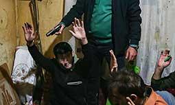 عملیات دستگیری سارقین و معتادان متجاهر