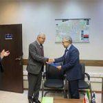 مراسم تودیع و معارفه مدیر امور شعب مرکز بانک حکمت ایرانیان