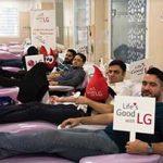 اهدا خون کارکنان الجی ایران، همگام با کمپین جهانی اهدای خون الجی