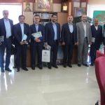 تجلیل از جانبازان و ایثارگران در ستاد مرکزی بانک حکمت ایرانیان