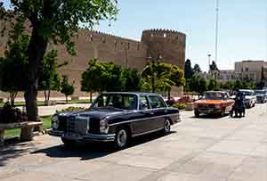 نمایشگاه خودروهای کلاسیک – شیراز
