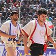 حمایت بانک ملی ایران از مسابقات کشوری کشتی با چوخه اسفراین