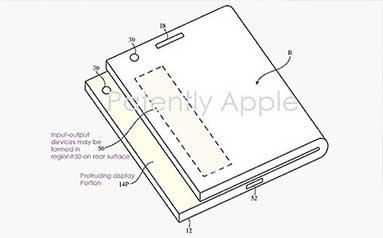 پتنت جدید اپل برای ساخت یک آیفون تاشو
